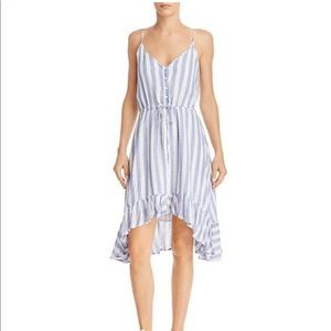 NEW Rails Frida Striped High/Low Dress XS